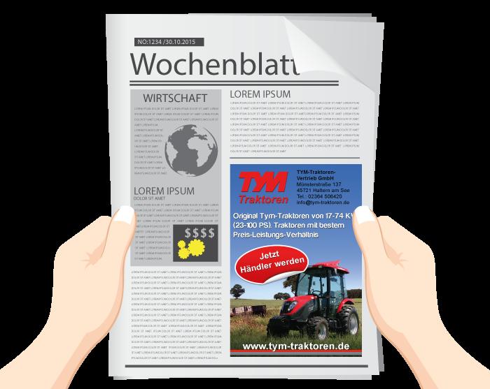 TYM Traktoren Vertrieb